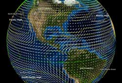 Layered Earth Meteorology Middle School/High School Global Wind Patterns Data Feature