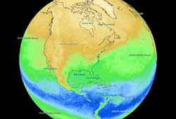 Layered Earth Meteorology Middle School/High School Atmospheric Composition Data Feature
