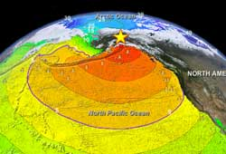 Layered Earth Geology Middle School High School Tsunami Data Feature